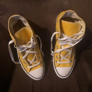 Unisex Lemon 🍋 Chrome Converse